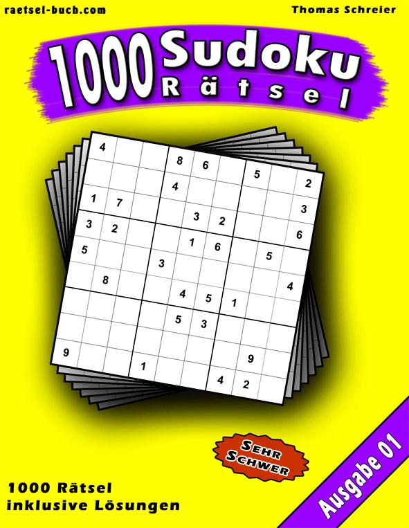 1000 Sudoku Schwer