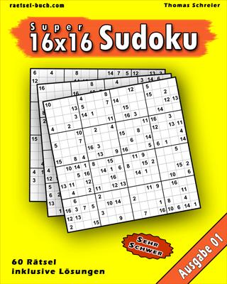 16x16 Zahlen Schwer